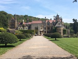 A Flying Visit, But Well Worth, lovely grounds with magnificent buildings, furniture and quality decor.