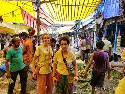 flower market tour