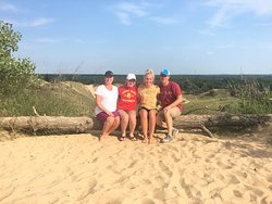 This was our first time on the dune ride and it was a blast! Definitely something fun and inexpensive to do with the family.