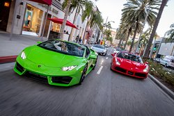 Los Angeles Supercar Tour by Exotics Racing
