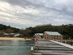 View of the Quarantine Station from the Wharf