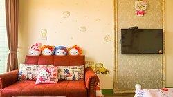 粉紅樂園房_Hello Kitty