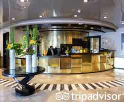 Lobby at the Hilton Bentley Miami/South Beach