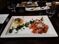 Good Italian food.
