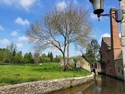 Old Mill in one of the villages.