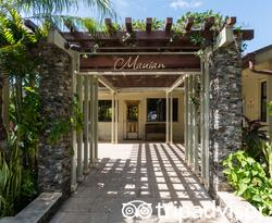 Entrance at The Mauian Hotel on Napili Beach