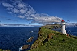 Mykines Holmur Lighthouse