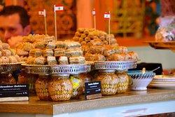 The tempting baklava display
