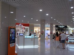 Shopping Mall Modny Kvartal, Irkutsk, Russia. Located in the 130 Kvartal District. Immaculate and spotless. Nice open areas.