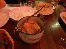 Massaman chicken curry.