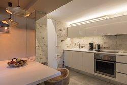 Villa Myrthia -  kitchen area