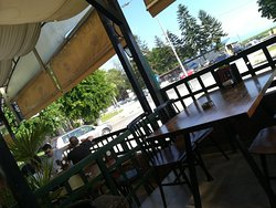 Nice place to enjoy a delicious coffie, bevrage, beer and food.