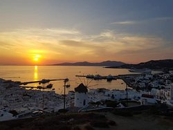 Mykonos sunshine June 2019