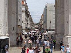 Calle Augusta, Lisboa, Portugal