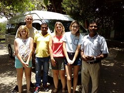 14 days tour in Sri Lanka with our driver Chaminda.