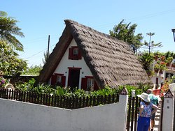 Traditional thatched house