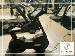 A Fitness zone with high technology equipments