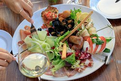 Antipasto La Galleria, a combination of various starters