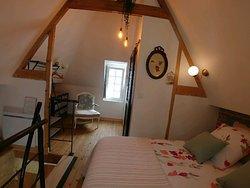 chambre du Nid de la Cantellerie (cottage)