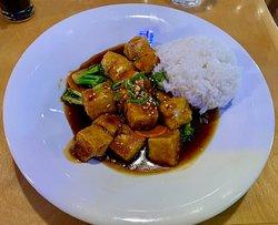 Naked Tchopstix's General Tso's Tofu