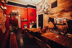The Burro Room! Ideal for groups of 7-9.