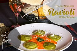 Chef Special: Spinach Ravioli with Cheese
