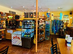 From popsicles to kombucha and more - there's lots of stuff to buy  at the Mangp Bistro