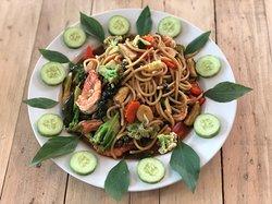 Spagetti Seafood