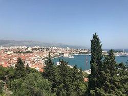 A fabulous lunch at Teraca Vidilica, in Split, Croatia