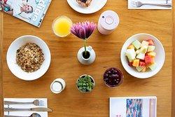 Breakfast, enjoy our continental breakfast buffet seven days a week.