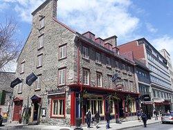Le restaurant Rue St Jean Québec