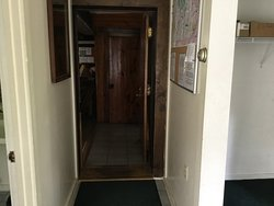 From mudroom into main areas