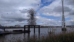 Quantum Cloud sculpture