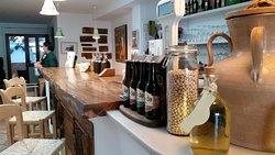 A wonderful bar of fine wines
