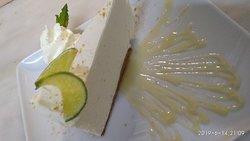 Lime cheesecake!