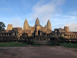 View from the backside of Angkor Wat.