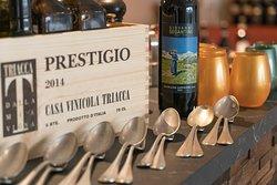 Mise en place e vini di Valtellina