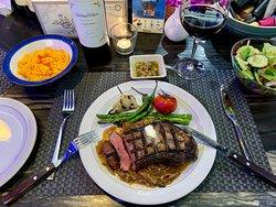 Steaks, steaks, and more steaks!