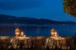 Dinner on the Lake shore