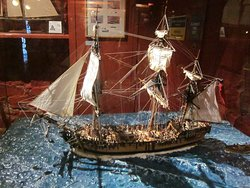 One of the impressive models on display