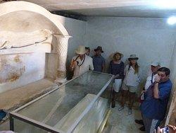 Tuna el-Gebel Inside the Tomb of Isadora