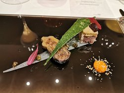 French food with fresh Japanese ingredients
