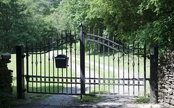 Secure electric Gates to private Grounds