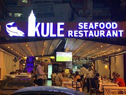 Kule Seafood best fısh adres of Kuşadası