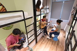 Show off your musical talent and sing a song or two with your new roomies in our spacious dorms.