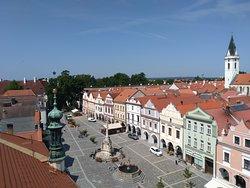 Pohled na náměstí z věže