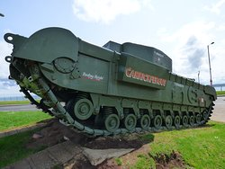 Churchill Tank  On the tour you will find out how Carrickfergus and the Churchill Tank are connected.