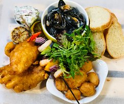 Fritto Misto Sharing Platter available on our Friday & Saturday evening menu