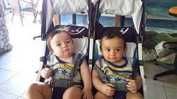do they look like twins. nephew's