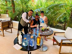 Gilberto Tequilair Extrodinaire who provided us a Private Tequila Tasting.  Gilberto is Amazing at his craft.